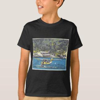 サンファンへの水上飛行機はあります Tシャツ
