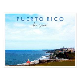 サンファンプエルトリコ旅行写真の記念品 ポストカード