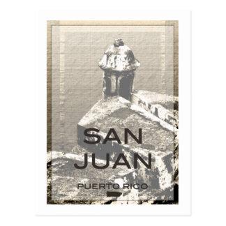 サンファンプエルトリコ ポストカード