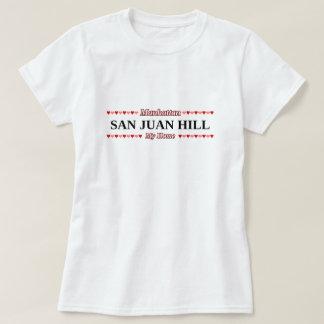 サンファン丘-私の家庭のマンハッタン、NYC Tシャツ