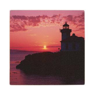 サンファン島、石灰がまの灯台 ウッドコースター