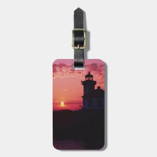 サンファン島、石灰がまの灯台 ラゲッジタグ