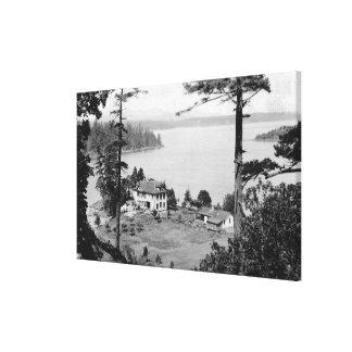 サンファン島、WAGuamラマ僧の意見の写真 キャンバスプリント