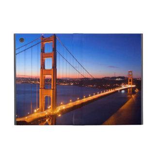 サンフランシスコおよびゴールデンゲートブリッジ上の夜明け iPad MINI ケース