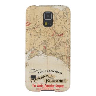 サンフランシスコからのアラスカへの地図の提示ルート GALAXY S5 ケース