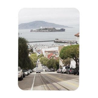 サンフランシスコから見られるAlcatrazの刑務所 マグネット