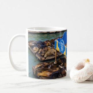 サンフランシスコのアシカ コーヒーマグカップ