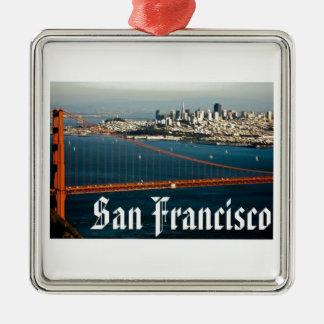 サンフランシスコのオーナメント メタルオーナメント