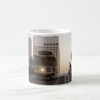 サンフランシスコのケーブル・カーのマグ コーヒーマグカップ