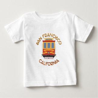 サンフランシスコのケーブル・カー ベビーTシャツ