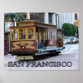 サンフランシスコのケーブル・カー ポスター