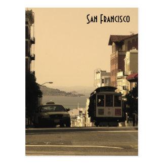 サンフランシスコのケーブル・カー ポストカード