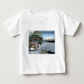 サンフランシスコのコラージュ#3 ベビーTシャツ
