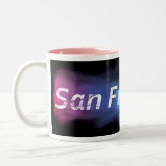 サンフランシスコのコーヒー ツートーンマグカップ