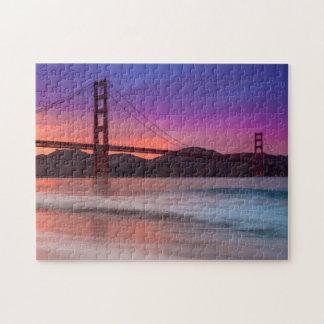 サンフランシスコのゴールデンゲートブリッジの捕獲 ジグソーパズル