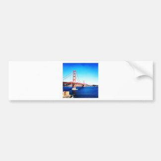 サンフランシスコのゴールデンゲートブリッジカリフォルニア バンパーステッカー
