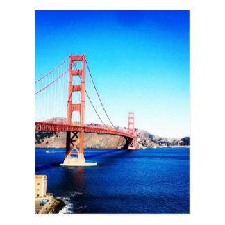 サンフランシスコのゴールデンゲートブリッジカリフォルニア ポストカード