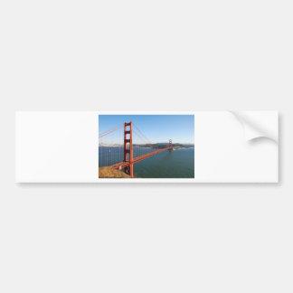 サンフランシスコのゴールデンゲートブリッジ バンパーステッカー
