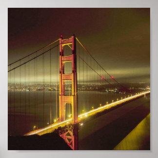 サンフランシスコのゴールデンゲートポスター ポスター