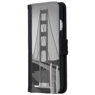 サンフランシスコのゴールデンゲート iPhone 6/6S ウォレットケース