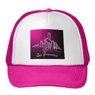 サンフランシスコのスカイラインの帽子 メッシュ帽子
