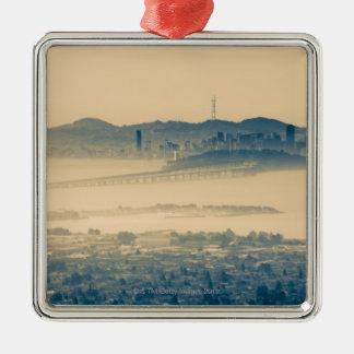 サンフランシスコのスカイラインカリフォルニア米国 メタルオーナメント