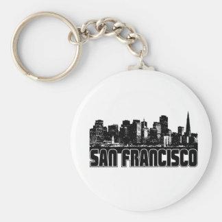 サンフランシスコのスカイライン キーホルダー