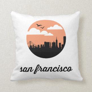 サンフランシスコのスカイライン|サンフランシスコカリフォルニア クッション