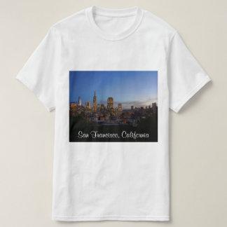 サンフランシスコのスカイライン#3のTシャツ Tシャツ