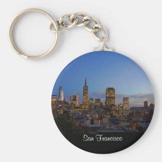 サンフランシスコのスカイライン#3 Keychain キーホルダー
