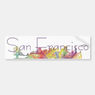 サンフランシスコのスカイラインWB1 - バンパーステッカー