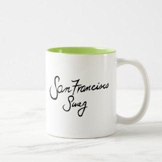 サンフランシスコのスワッグ ツートーンマグカップ