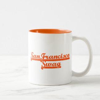サンフランシスコのチームスワッグ ツートーンマグカップ