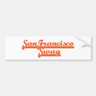 サンフランシスコのチームスワッグ バンパーステッカー