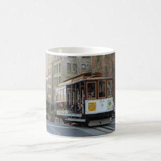 サンフランシスコのトロリーマグ コーヒーマグカップ