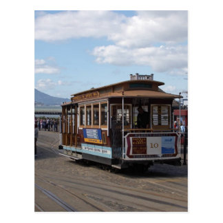 サンフランシスコのトロリー車 ポストカード