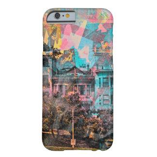 サンフランシスコのドロレスの公園の色彩の鮮やかな女性 BARELY THERE iPhone 6 ケース