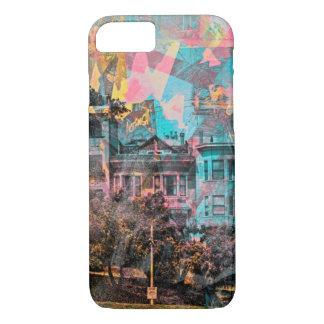 サンフランシスコのドロレスの公園の色彩の鮮やかな女性 iPhone 8/7ケース