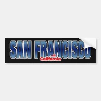 サンフランシスコのバンパー バンパーステッカー