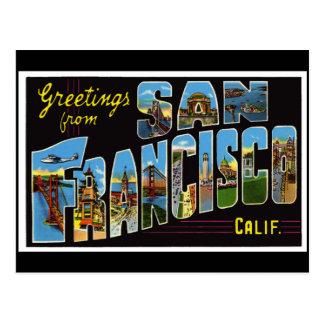 サンフランシスコのヴィンテージカード ポストカード