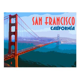 サンフランシスコのヴィンテージ旅行郵便はがき ポストカード
