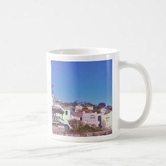 サンフランシスコの丘のマグ コーヒーマグカップ