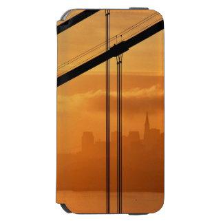 サンフランシスコの前のゴールデンゲートブリッジ INCIPIO WATSON™ iPhone 5 財布型ケース