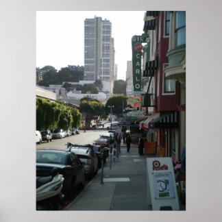 サンフランシスコの北のビーチ ポスター