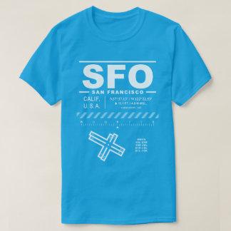 サンフランシスコの国際空港SFOのTシャツ Tシャツ