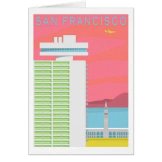 サンフランシスコの挨拶状 カード