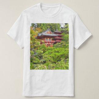 サンフランシスコの日本のな茶庭#7のTシャツ Tシャツ