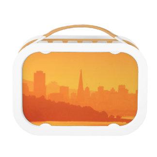 サンフランシスコの明るい日没 ランチボックス