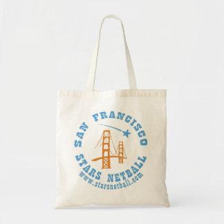 サンフランシスコの星のネットボールのバッグ トートバッグ