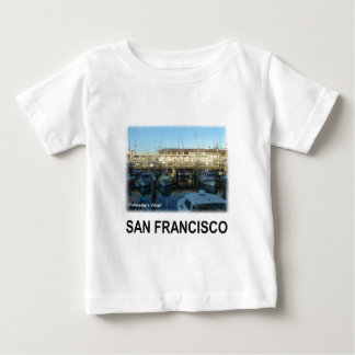 サンフランシスコの漁師の波止場 ベビーTシャツ